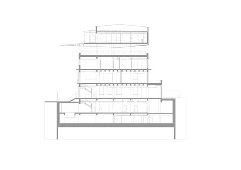abstract section cantilevered abstract product re act now archdaily