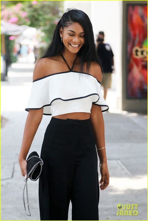chanel iman baby pictures chanel iman shares first xoxo caign pic photo 3742664