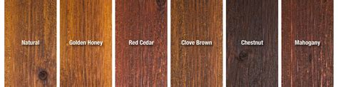 stain colors one time wood