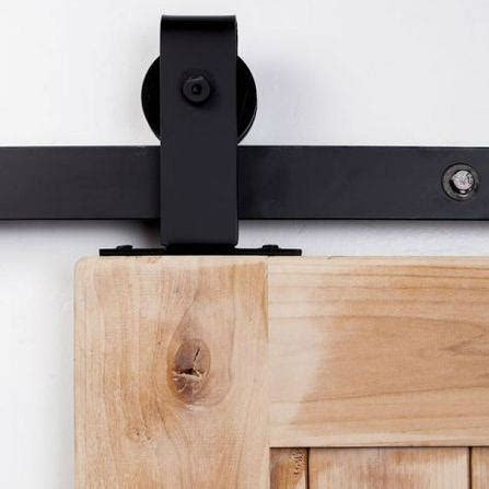 Barn Door Track System Decor Exterior Sliding Barn Door Barn Door Tracking Mount