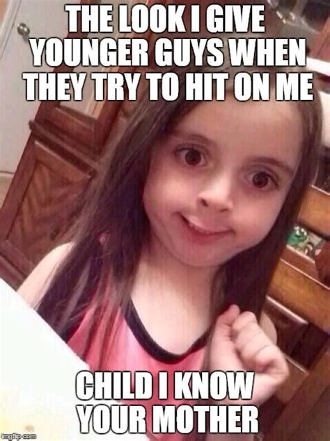 Smile Girl Meme - little girl funny smile imgflip