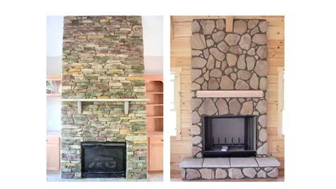 fireplace veneer and facades make the