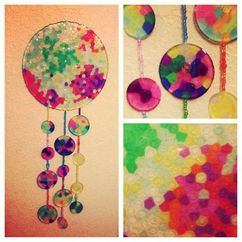 melted bead wind chimes 17 best images about melted bead windchimes suncatchers