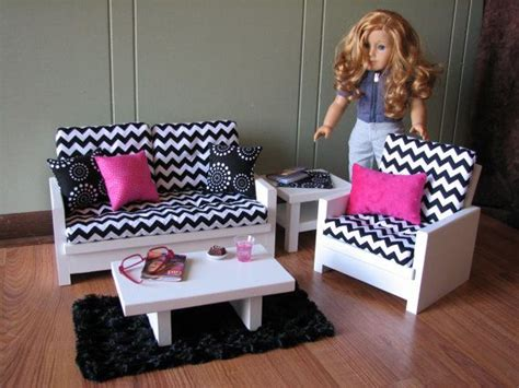 american girl doll couch 18 quot doll furniture american girl sized living room