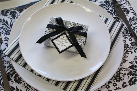 black and white dinner ideas themes