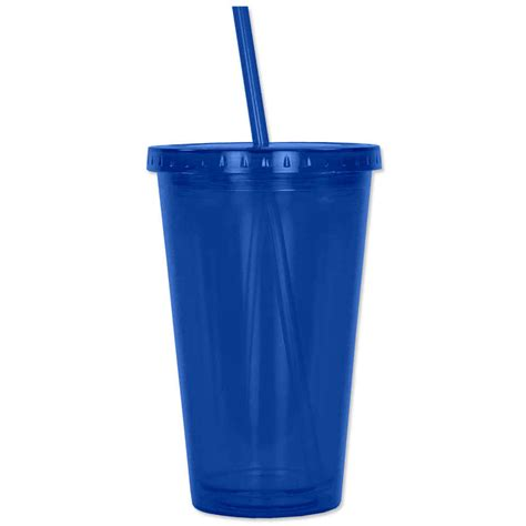 Promo Tshirt Tumbler No 266 design custom printed 16 oz acrylic cafe tumblers at customink