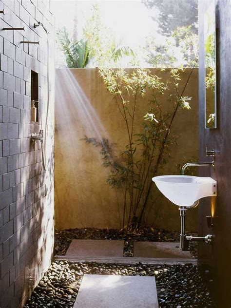 indoor outdoor bathroom hgtv 30 cool outdoor showers to spice up your backyard