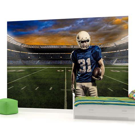 football stadium wallpaper for bedrooms football field wallpaper room wallpapersafari