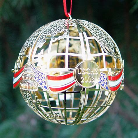2003 capitol sphere ornament 2003 white house christmas