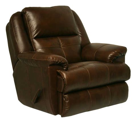 best reclining glider catnapper crosby top grain leather chaise swivel glider