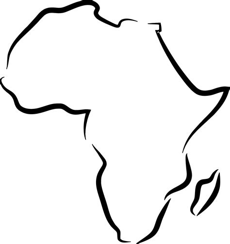 International Use Of Outline by Map Outline Of Africa Png Clipart Best