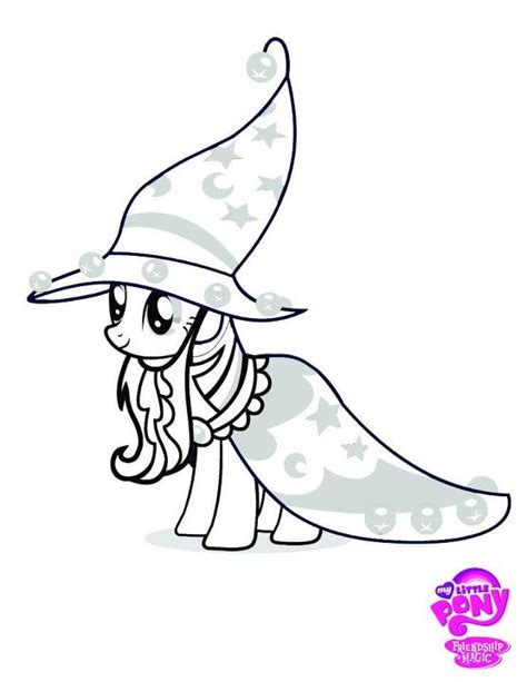 free coloring pages of my little pony discord