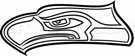 coloring pages football seahawks how to draw the seahawks step by step movies pop