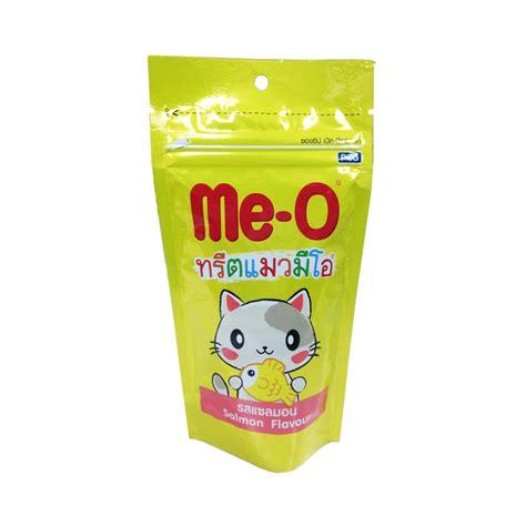 Me O Salmon by Me O Cat Treat Salmon Crispy Flavour 50g