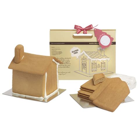 buy a gingerbread house kit gluten free gingerbread house kit 600g gingerbread folk