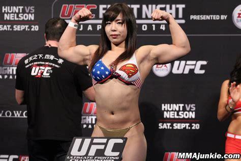 female mma fighter cameltoe rin nakai mmajunkie