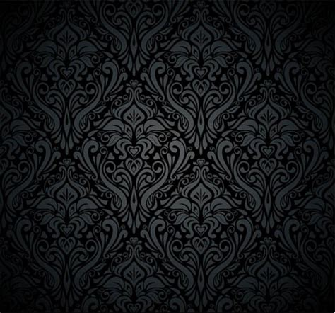 damask pattern background free dark damask backgrounds vector vector background free