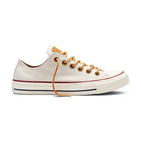 Concverse Chuck Tylor Ox High Peached For chuck all ox peached canvas in parchment converse parchment 151260c