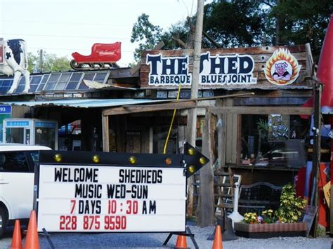 quot the quot shed picture of the shed barbeque blues joint