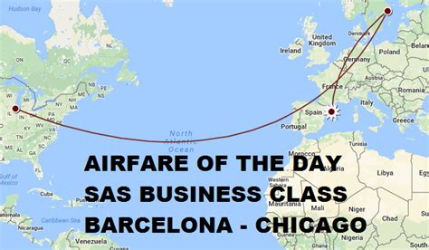 airfare of the day sas bcn ord usd 1908 rt business class loyaltylobby