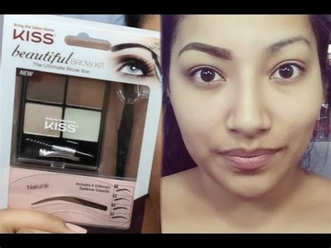 elf eye brow kit for black hair first impressions new kiss beautiful brow kit full eyebrow