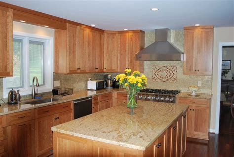 with cherry natural cherry wood cabinets www pixshark com images