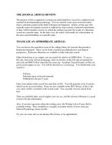 Article Review Template by Best Photos Of Sle Apa Article Summary Apa Journal