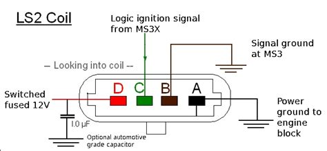 gm coil on pin diagram gm free engine image for
