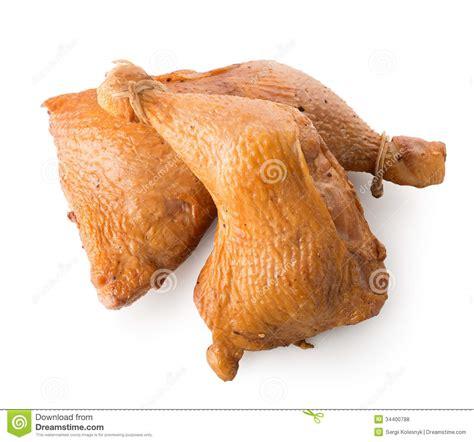 imagenes libres pollo dos piernas de pollo ahumadas fotos de archivo libres de