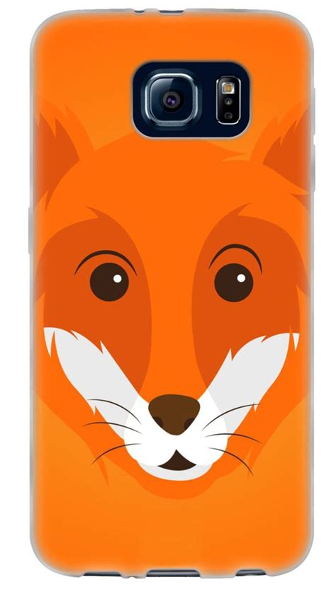 bumper silicon 3d animal fox soft and smooth silicone 3d