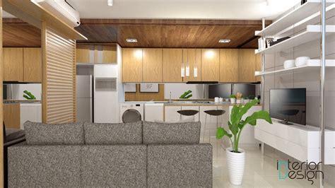 jasa design interior apartemen jakarta ruang keluarga apartemen tamansari semanggi jakarta
