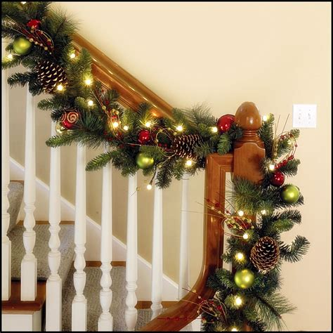 garland ideas traditional christmas decorating ideas home ifresh design