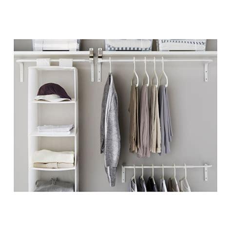 kleiderstange wand mulig clothes bar white 60 90 cm ikea