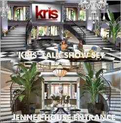 kris jenners address kris jenner s new talk show set is a near duplicate of her