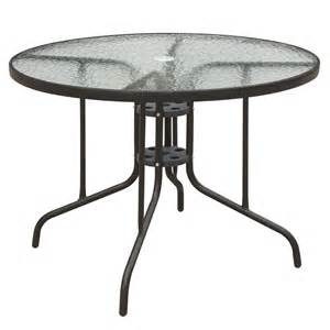 patio table frame patio outdoor garden yard dining table frosted glass