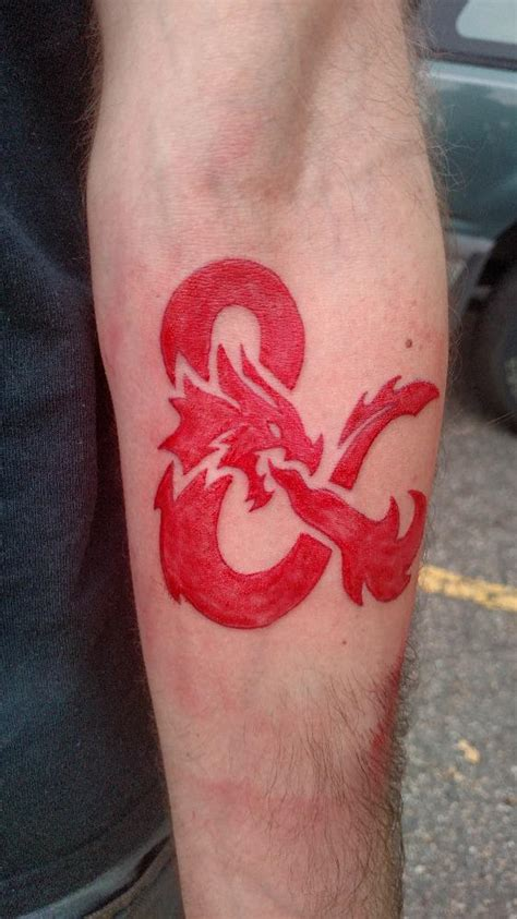 dungeons and dragons tattoo would you get a d d