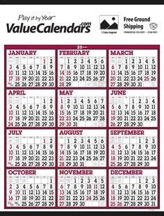 Big Wall Calendar 1000 Images About Commercial Advertising Calendars On