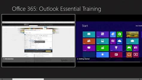windows 10 outlook tutorial office 365 outlook essential training for windows 10 pc