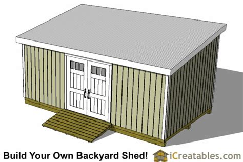 Storage Shed Plans 12x24 by 12x24 Lean To Shed Plans Build A Large Lean To Shed