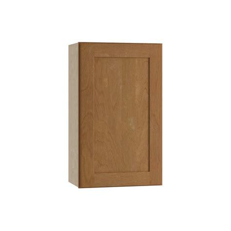 Single Door Cabinet Home Decorators Collection Hargrove Assembled 18x30x12 In Wall Single Door Cabinet In Cinnamon