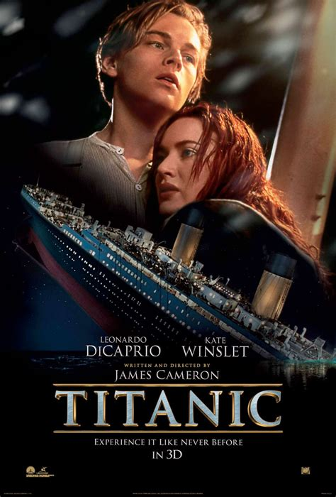 film titanic online in romana locandina di titanic 3d foto scene backstage
