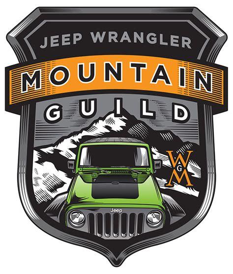 logo jeep wrangler logo projects jeep wrangler and quaile ale on behance