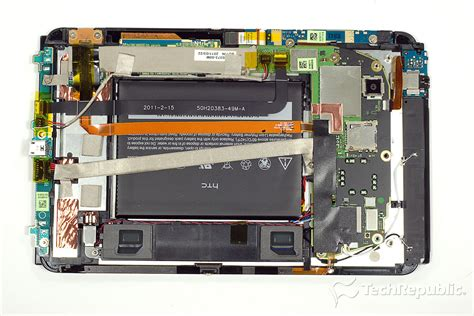 Hp Htc Flyer htc flyer teardown a smartphone in tablet s clothing techrepublic