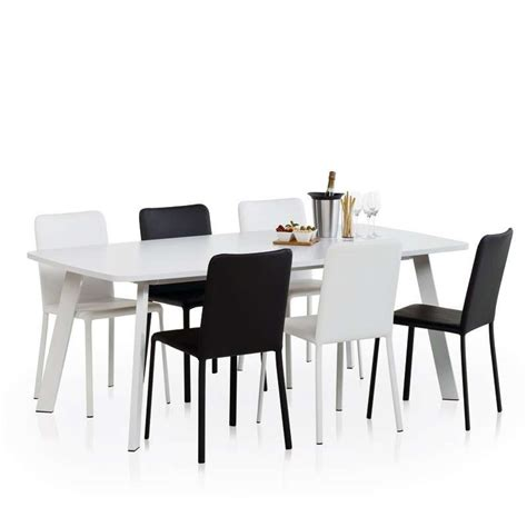 table cuisine moderne table moderne en stratifi 233 elias 4 pieds tables