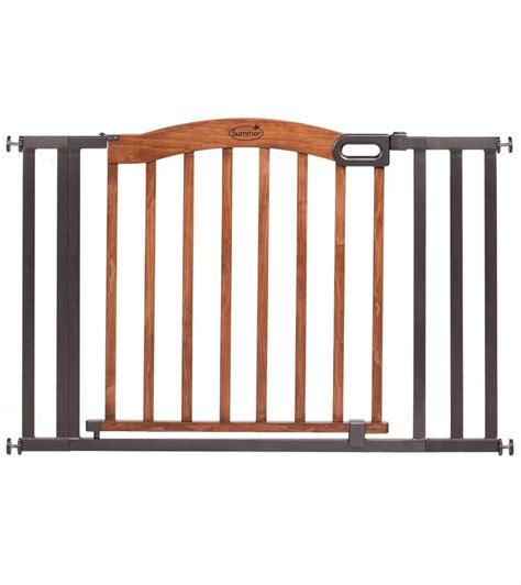 wide gate summer infant wide wood metal gate