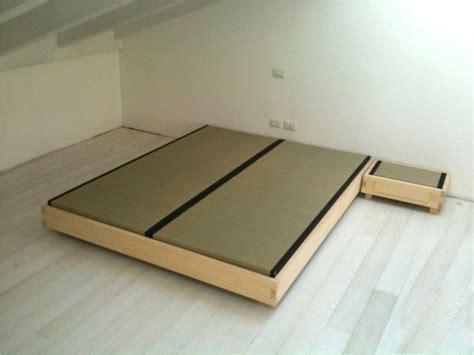 tatami letto letto tatami in legno massello 180x200 cm edojapan shop