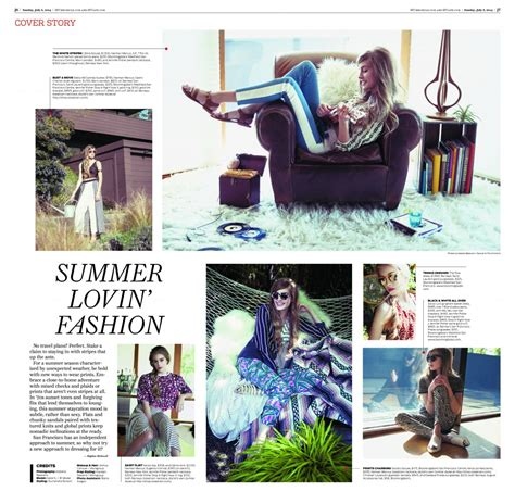 sf chronicle style section suchandra bullock bfa fashion styling featured in san