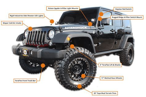 Hb Chrysler Jeep by Jeep Wrangler After Shock Edition Hb Road Performance