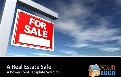 Best Powerpoint Templates For Making Good Sales Presentations Property Presentation Template