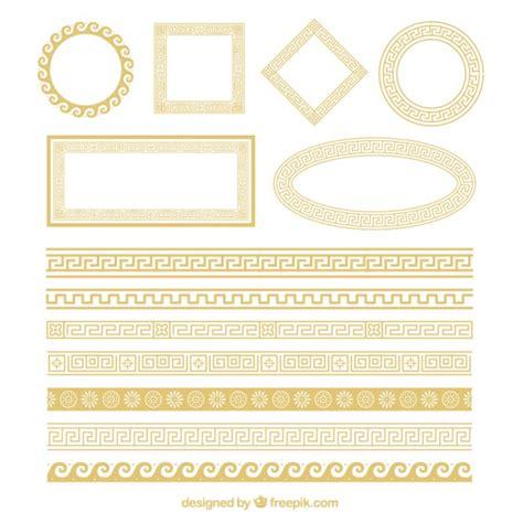 cornici ornamentali cornici ornamentali d oro scaricare vettori gratis
